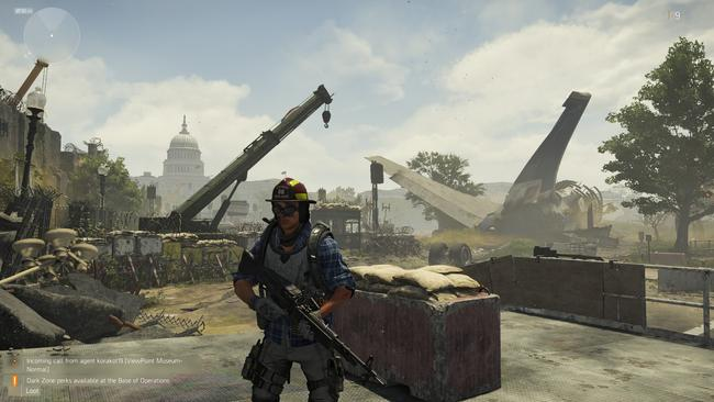 Washington DC is not in particularly good shape when The Division 2 opens. Picture: Supplied