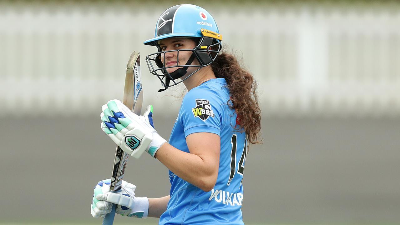 Laura Wolvaardt scored an unbeaten half-century.