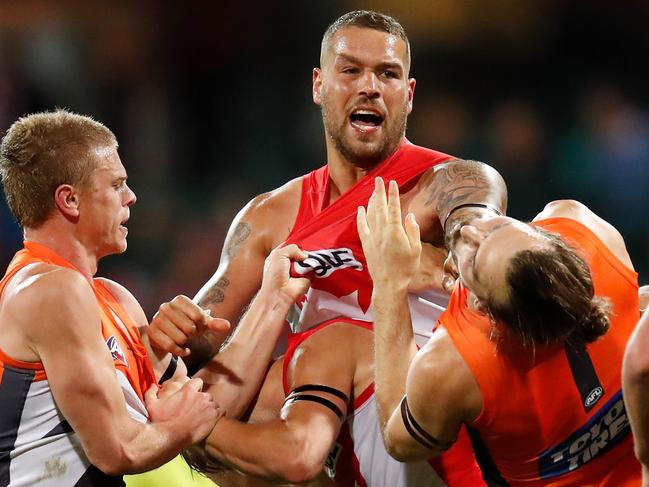 Lance Franklin is but one move away from being the undisputed king of the AFL, Kevin Bartlett says.