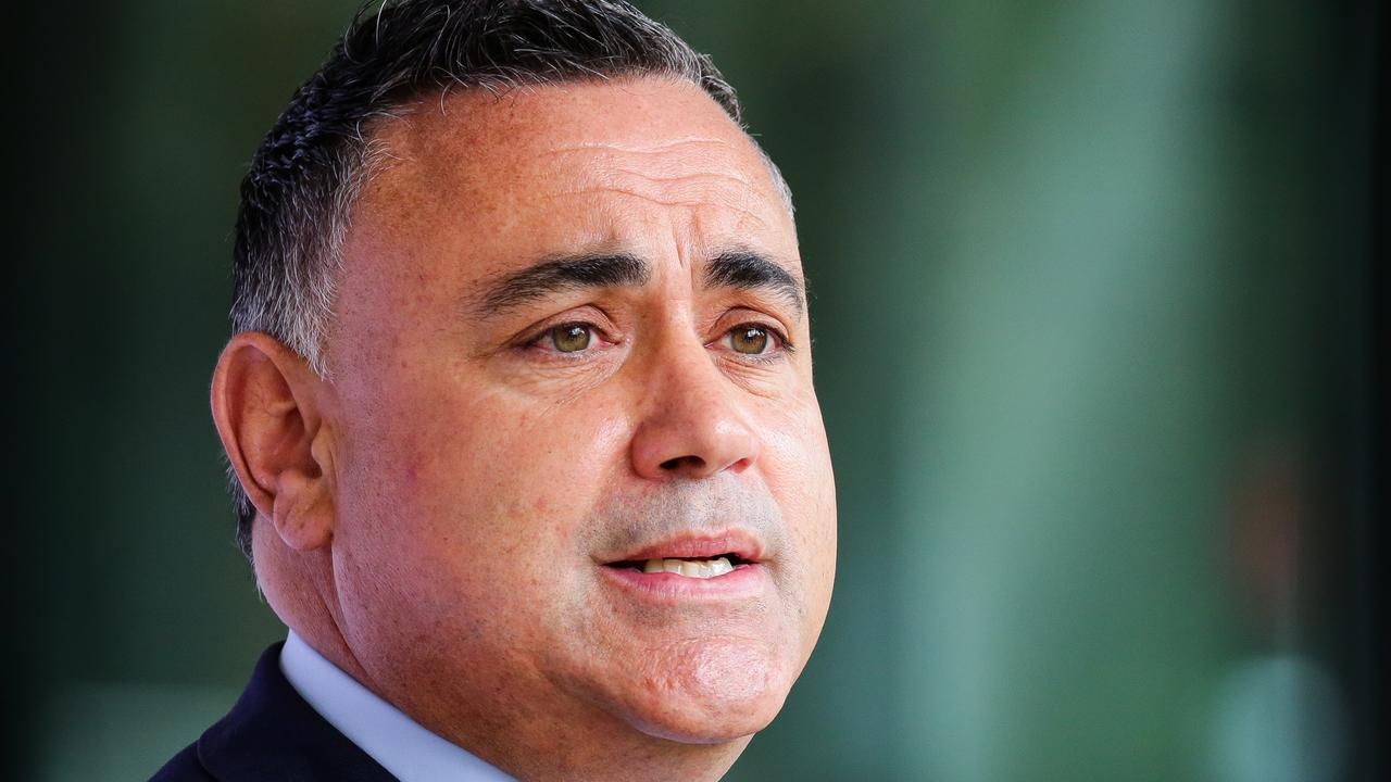 Acting NSW Premier John Barilaro lashes out at WA Premier Mark McGowan – NEWS.com.au