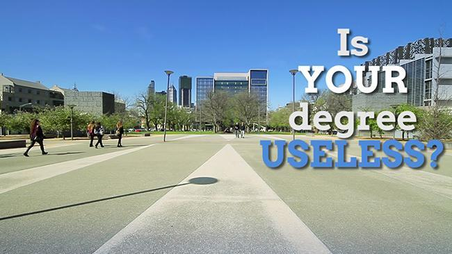 Will your degree leave you jobless?
