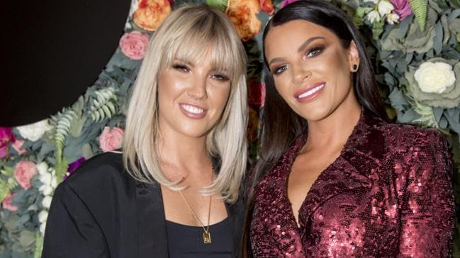 Tash Herz has gone public with her new girlfriend, Madison Hewitt. Picture: Supplied/Sam Tabone