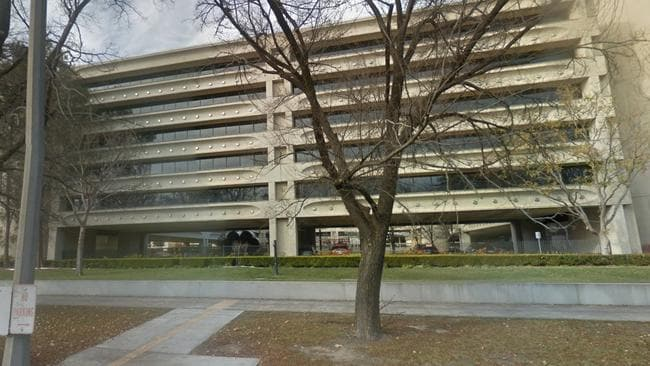 The AFP headquarters in the Edmund Barton Building, Canberra, ACT.