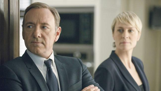 Kevin Spacey and Robin Wright in season two of Netflix's House of Cards. Picture: Nathaniel Bell