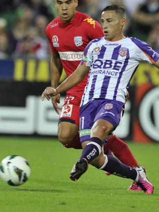 Adrian Zahra during his time with Perth Glory.