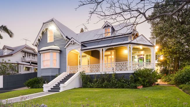 This gorgeous house at 11 Franklin St, Highgate Hill, was built in 1888.