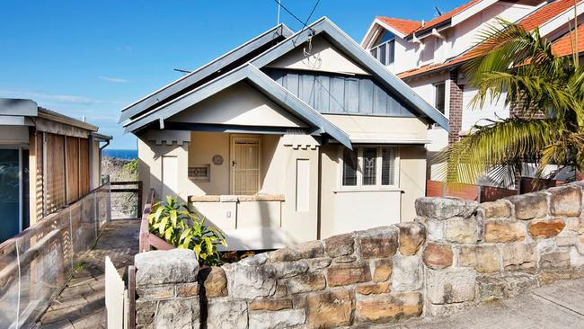 Jacinta McDonell's Clovelly project that she sold for a $350,000 loss.