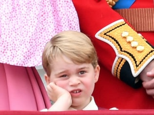 Turns out Prince George knows all the royal gossip. Source: Getty Images.