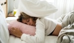 Your sleeping habits could be ruining your hair. Image: iStock