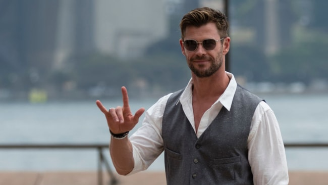 Chris Hemsworth is putting his life on the line for a new TV show. Image: Getty Images.
