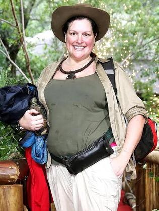 She's lost a whopping 50 kilos since appearing in the jungle. Picture: Channel 10