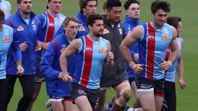 Tom Liberatore will be hoping for a big year for the Dogs. Picture: Michael Klein