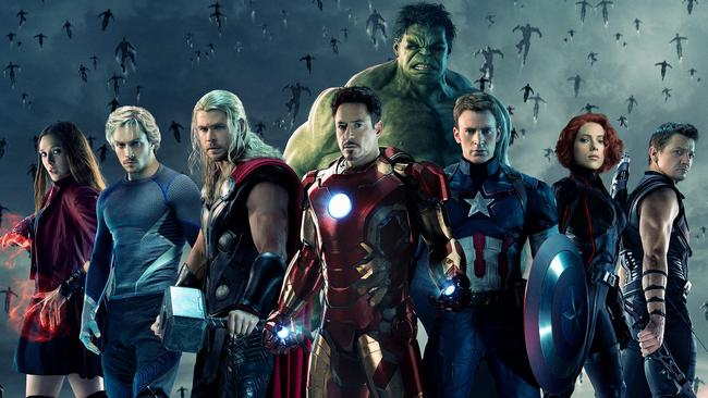 The Avengers — Age of Ultron.