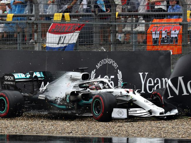 Lewis Hamilton had a day to forget.