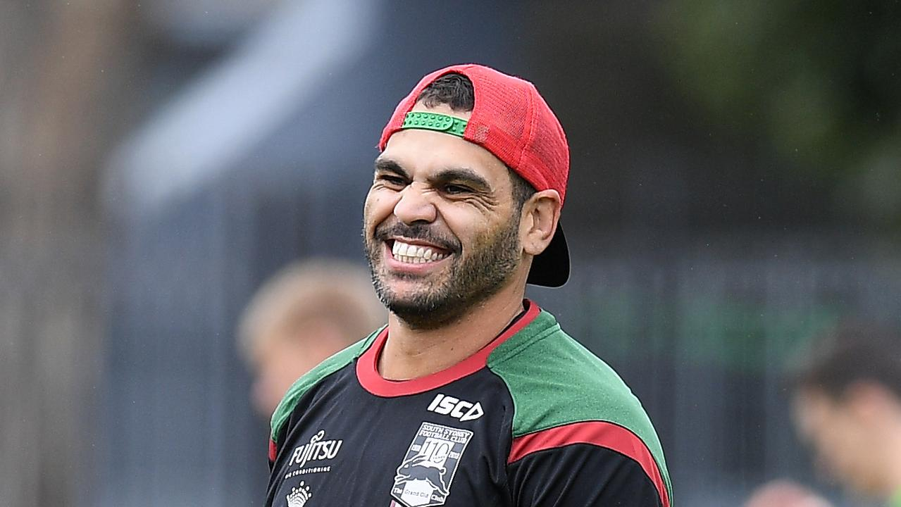 South Sydney Rabbitohs player Greg Inglis training on Wednesday — but things could have been oh-so-different.