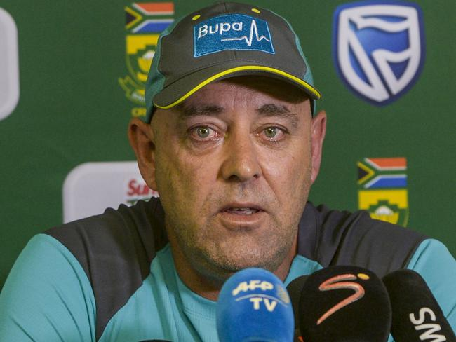 Darren Lehmann said he would love to stay involved in the game. Picture: Sydney Seshibedi/Gallo Images/Getty Images.