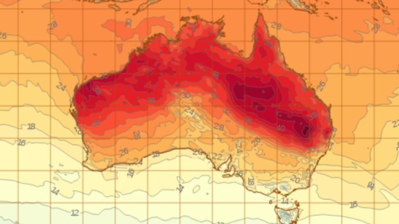 Heatwave continues in northern parts of Australia temperatures set to soar into mid-40s – NEWS.com.au