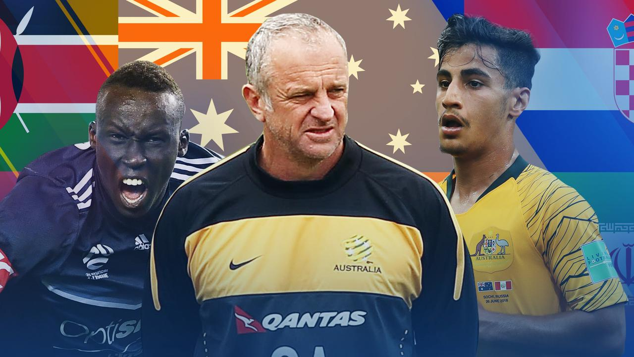 The Socceroos continue to represent Australian society