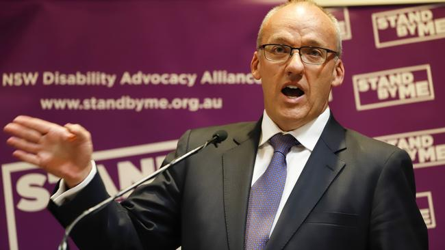 NSW Opposition Leader Luke Foley has defended the use of the term 'white flight'. Picture: Erik Anderson