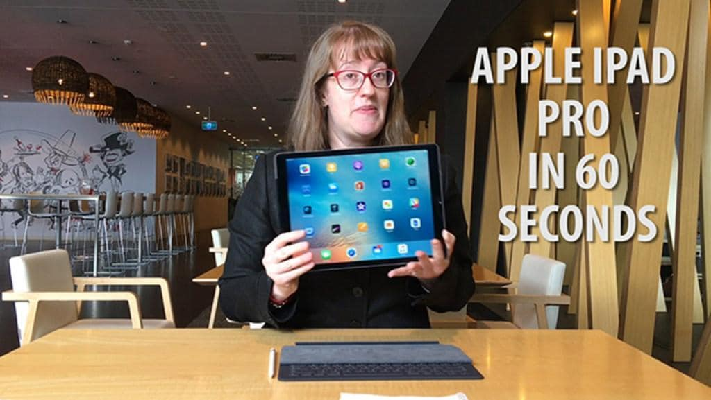The Apple iPad Pro in 60 seconds