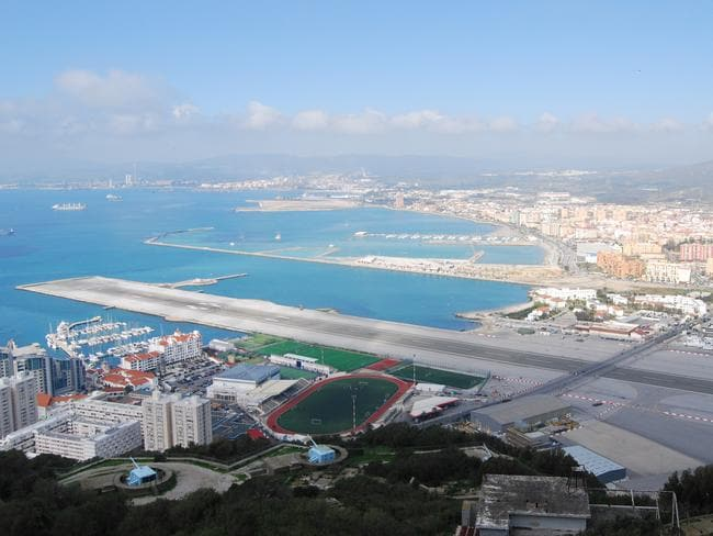 Gibraltar Airport. Picture: Rob