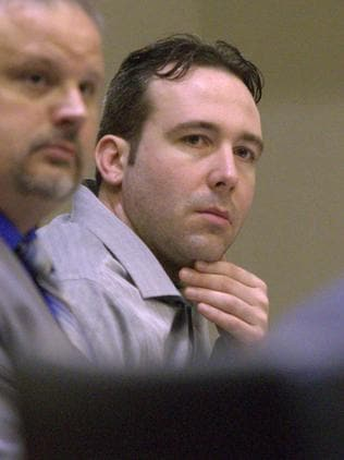 William Hoehn is on trial for conspiracy to commit murder. Picture: Michael Vosburg