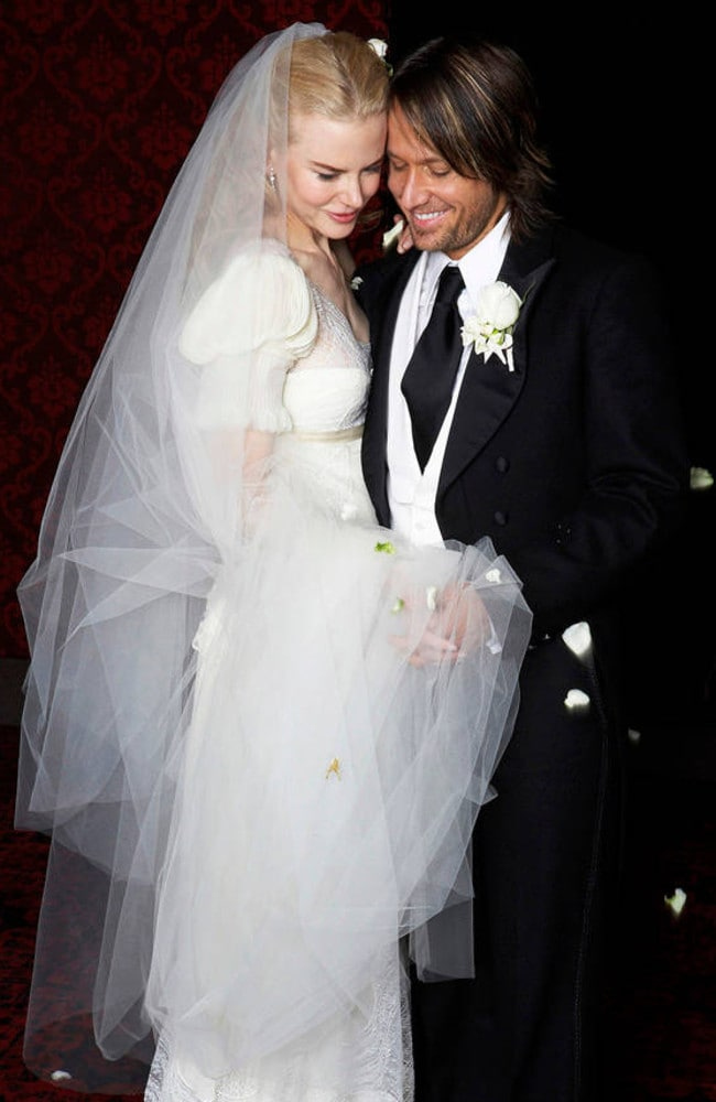 Nicole Kidman and Keith Urban married in 2006. Picture: Supplied