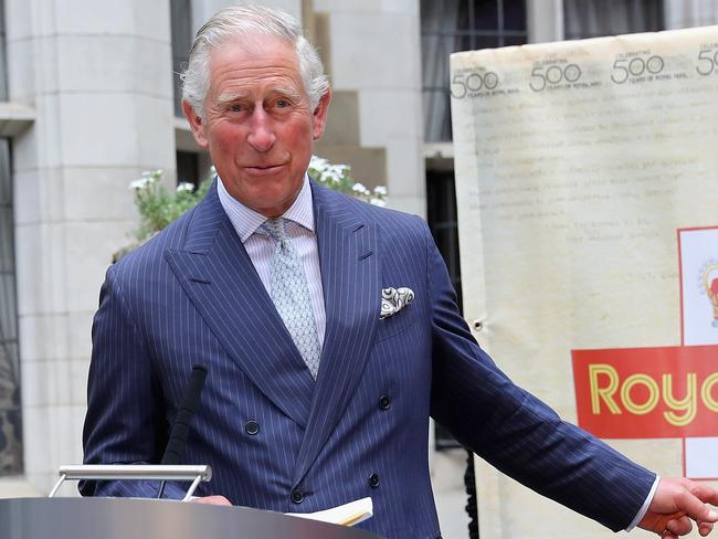 The Prince of Wales serves as patron of the Friends of the Royal Flying Doctors. Picture: Chris Jackson — WPA Pool/Getty Images