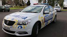 Police Celebrate Maori Language With Special Squad Car Wrap. Credit - New Zealand Police via Storyful