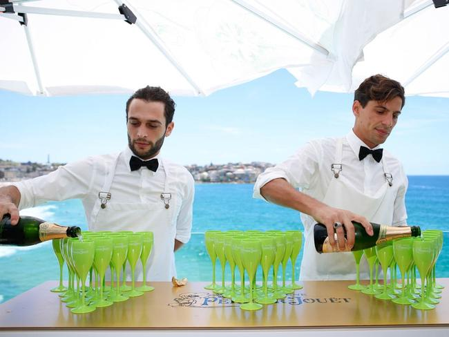 Enjoy some drinks at Bondi Icebergs on New Year's Day. Picture: Lighthouse Island Foto