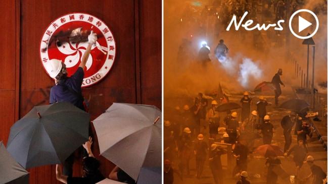 Chaos rocks Hong Kong as violent protests erupt