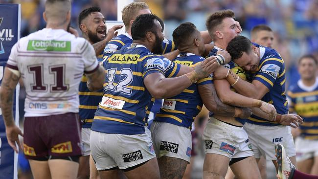 The Eels looked to have got back on track last weekend.