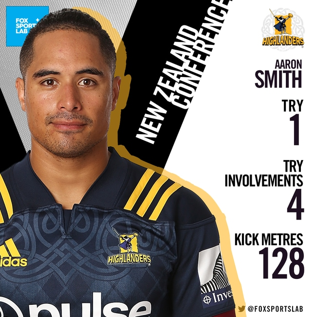 Aaron Smith is on fire.
