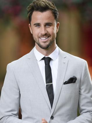 Brett appeared on Sophie Monk's Bachelorette season. Picture: TEN