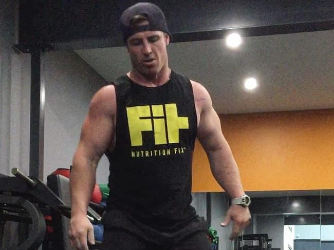 Brad Soper was a prize-winning weightlifter and personal trainer. Picture: Instagram