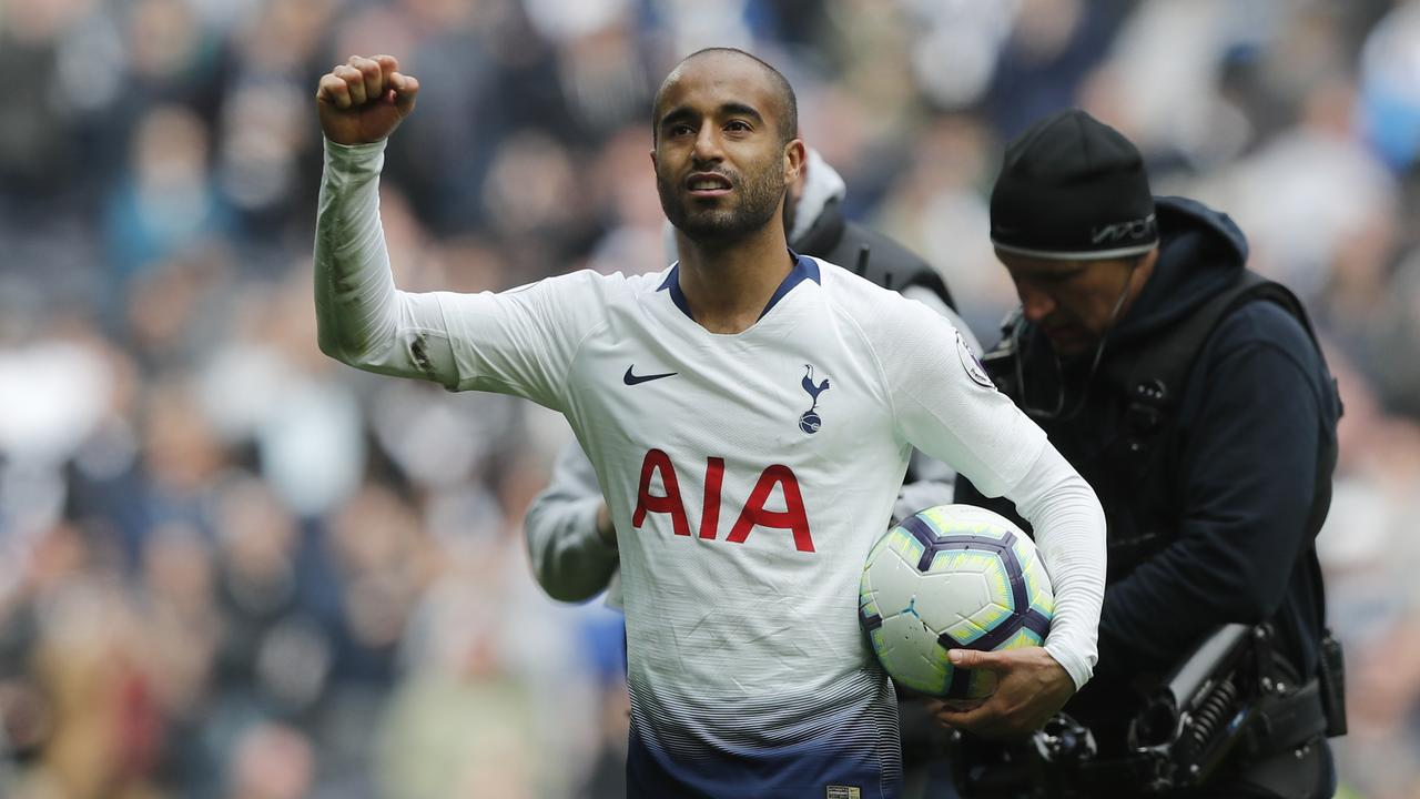 Lucas Moura bagged the first hat-trick in Tottenham's new $1.8 billion stadium.
