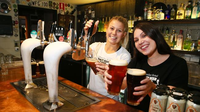 The Kinny pub hosts the annual Central Coast Craft Beer Festival. Picture: Peter Clark