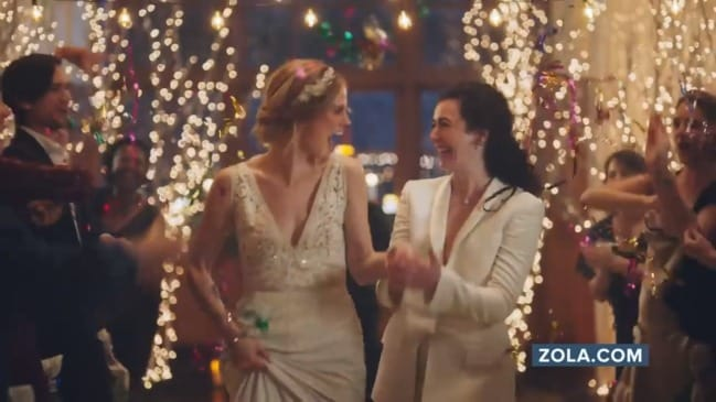 Same-sex wedding ad sparks outrage in conservative groups