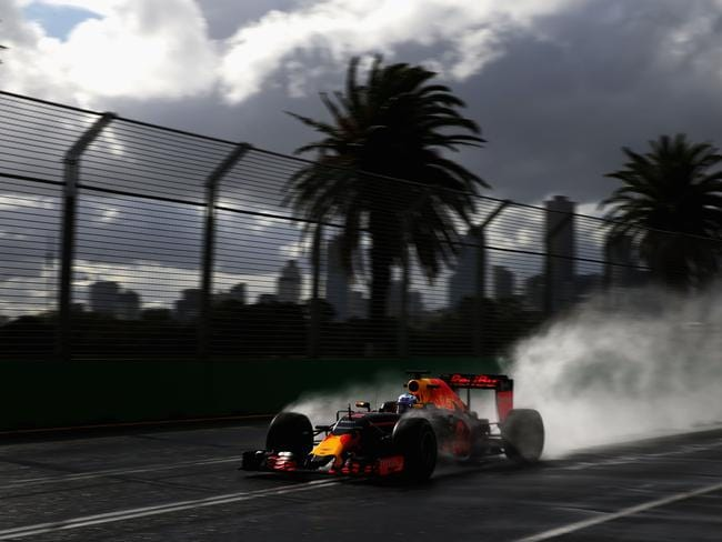 F1 cars last drove on a wet Albert Park during practice in 2016.