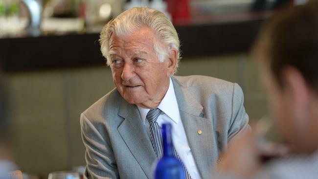 Respected ... former PM Bob Hawke came second in the poll, conducted for The Australian.
