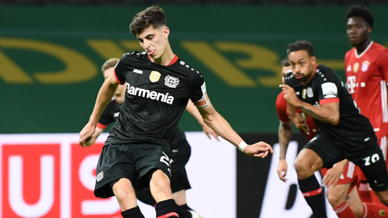 Bayer Leverkusen's Kai Havertz is in demand. (Photo by Annegret Hilse/Pool via Getty Images)