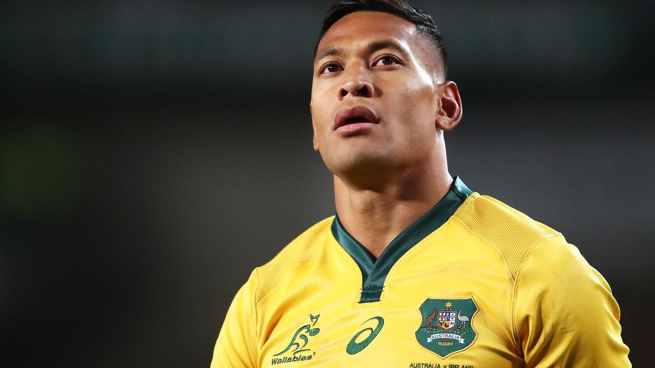 Israel Folau is fighting for more money.