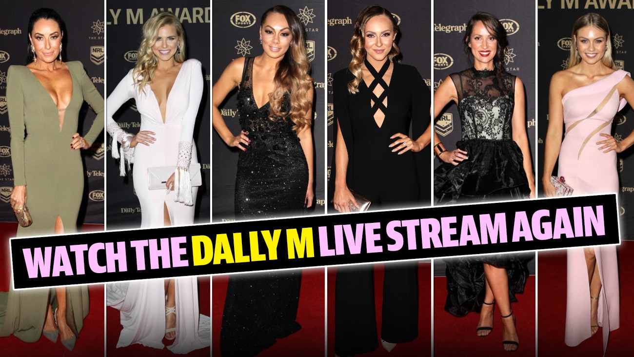 Dally M awards red carpet replay