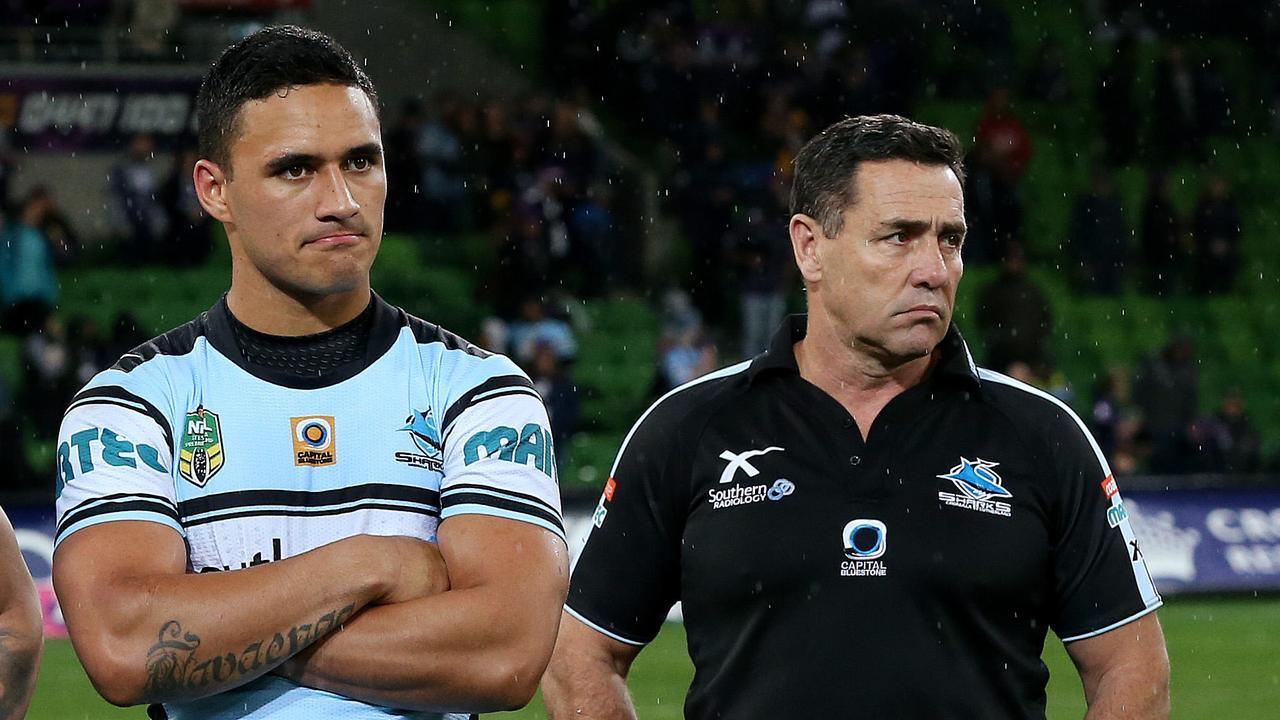Valentine Holmes admits to being shocked by Shane Flanagan's refusal to let him go. Picture: Colleen Petch.