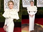 Jane Fonda arrives for the 73nd annual Golden Globe Awards, January 10, 2016, at the Beverly Hilton Hotel in Beverly Hills, California. Picture: AFP/Getty