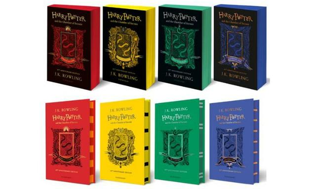 Harry Potter and the Chamber of Secrets House Editions