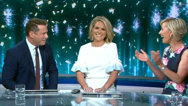 Georgie Gardner is the new Today co-host.