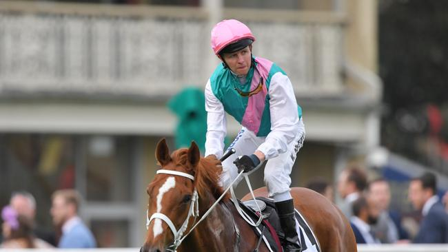 Kerrin McEvoy rode Finche to victory in the Kingston Town Stakes at Royal Randwick Racecourse in Sydney last week