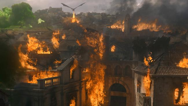 Dany really did a number on King's Landing. Picture: Supplied/ HBO