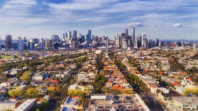 Melbourne is showing signs of recovery after a dramatic downturn.